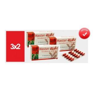 ** Promo 3x2 ** Master Plant Levadura de arroz rojo 30 capsulas