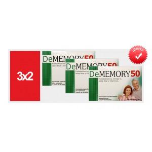 ** Promo 3x2 ** Dememory 50