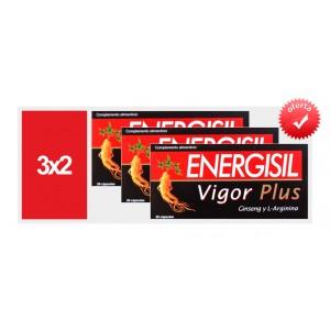 ** Promo 3x2 ** Energisil Plus 30 capsulas